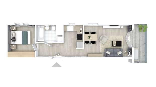 Mieszkanie 43.21 m2