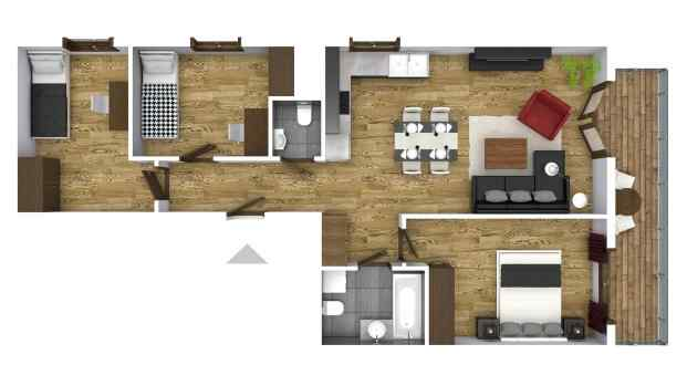 Mieszkanie 69.75 m2