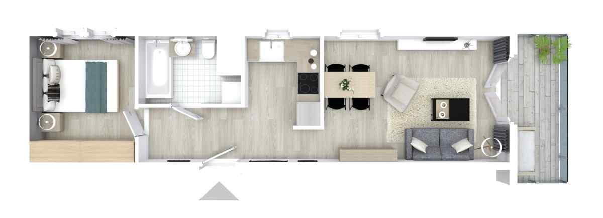 Mieszkanie 43,21 m2, Graniczna, Rzeszów