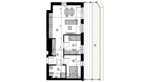 Mieszkanie 58.23 m2
