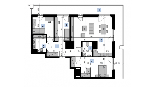 Mieszkanie 92.53 m2
