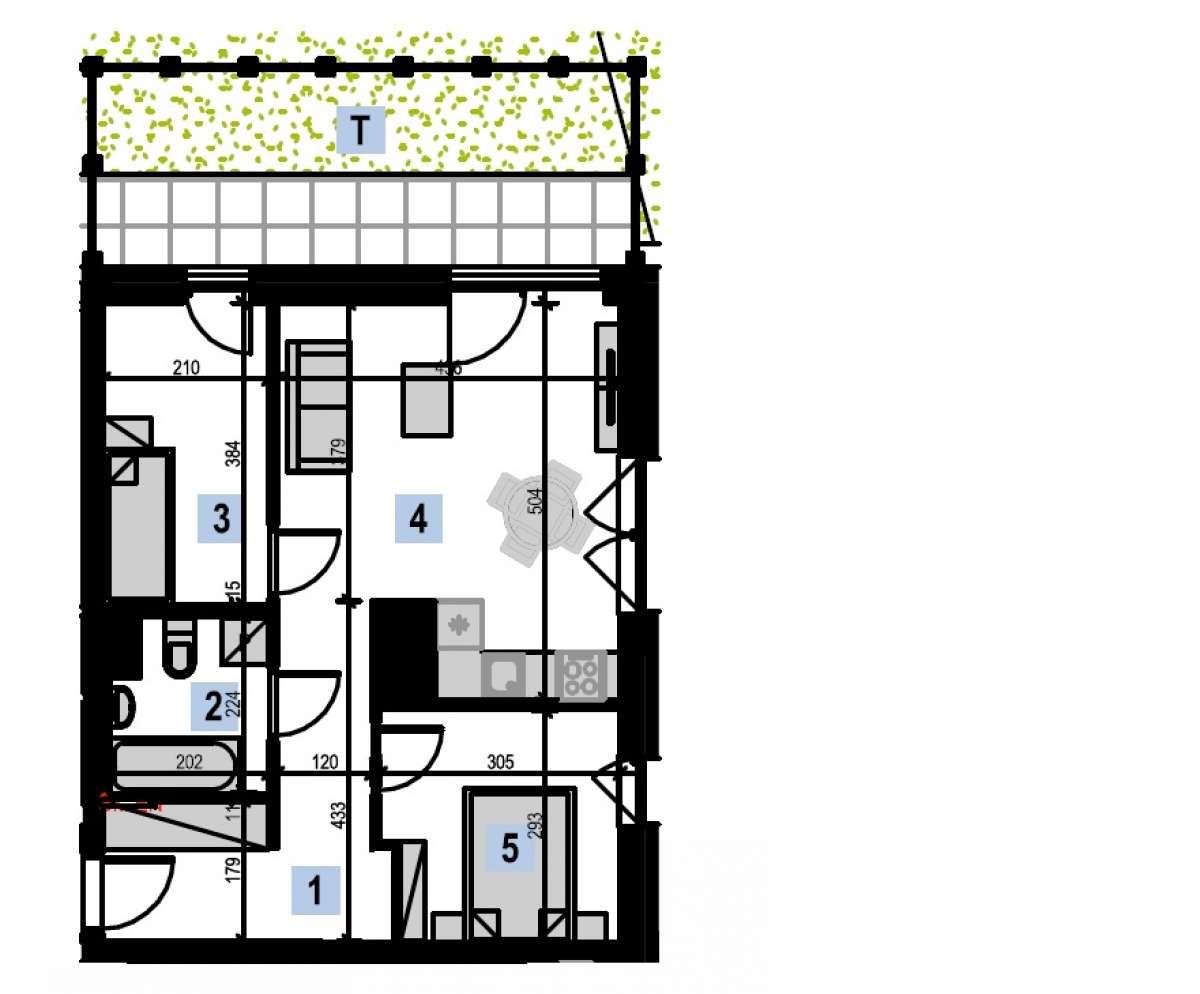 Mieszkanie 49,9 m2, Kwiatkowskiego 4, Rzeszów