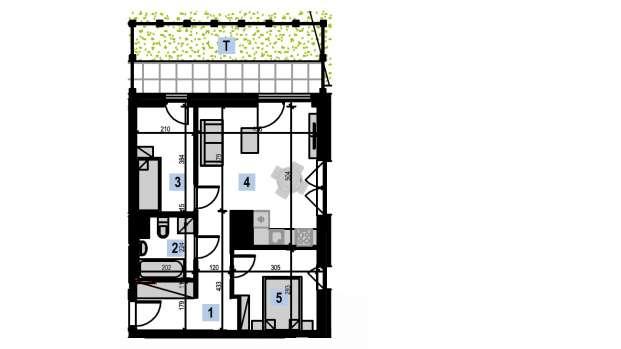Mieszkanie 49.90 m2