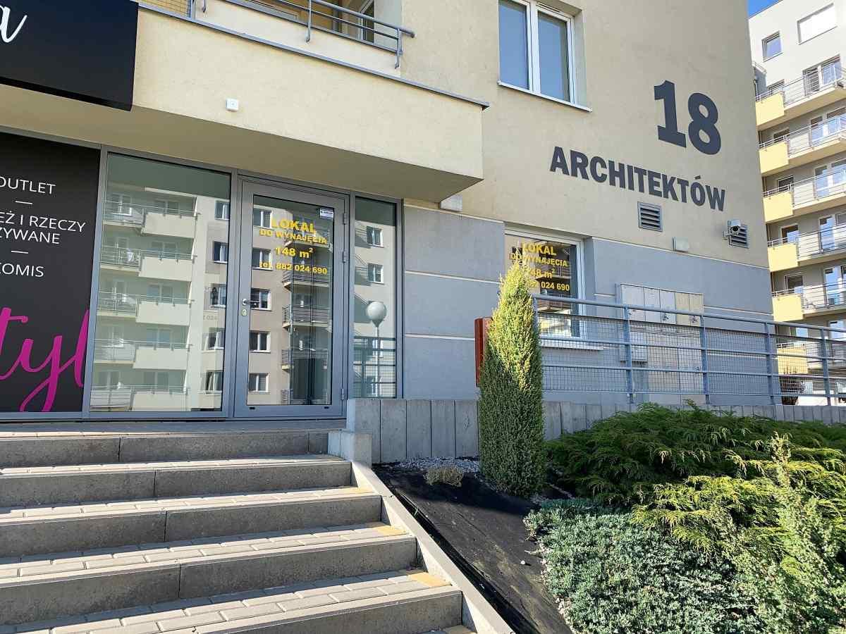Lokal usługowy 148 m2, Architektów, Rzeszów