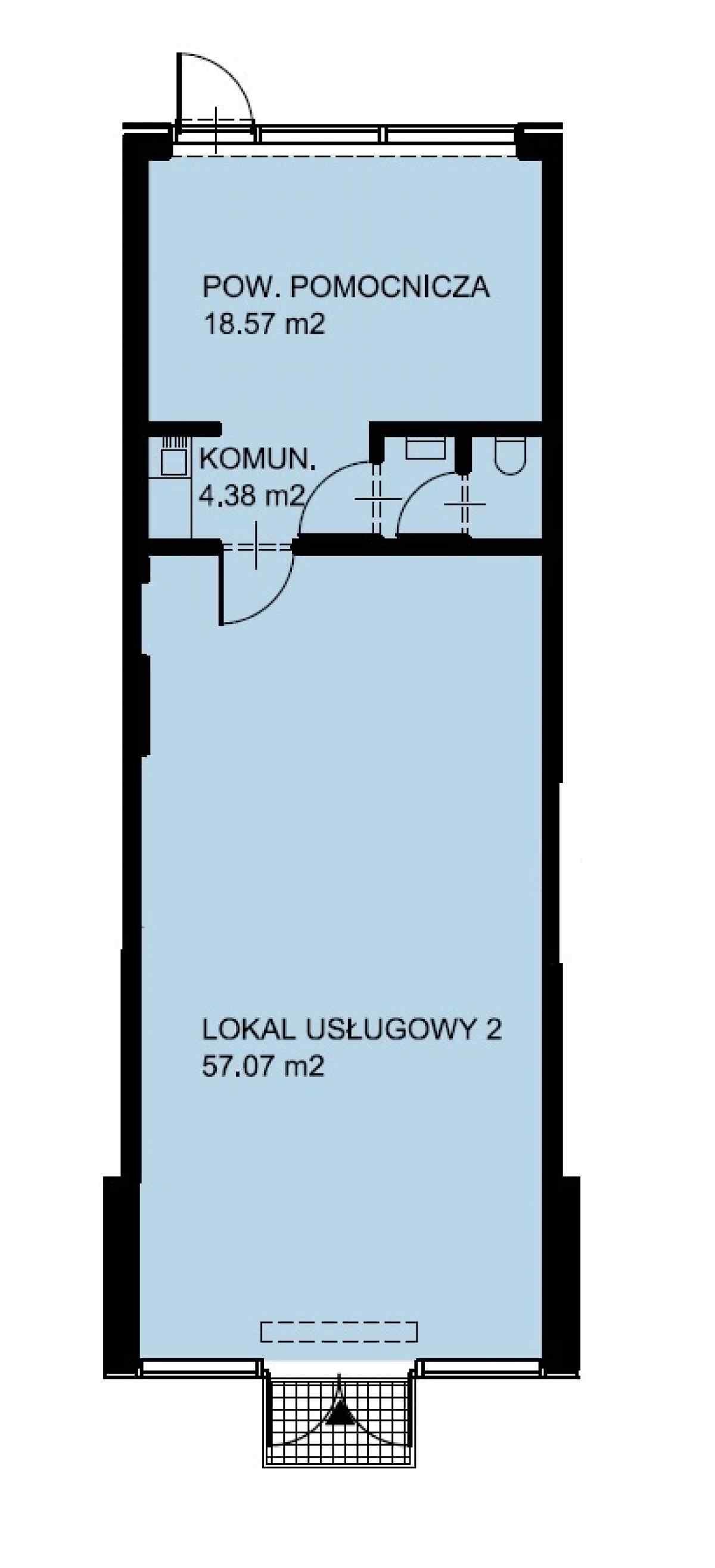 Lokal usługowy 82,99 m2, Warszawska/Lubelska, Rzeszów