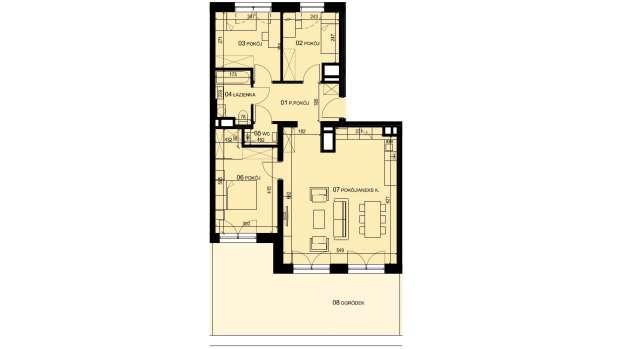 Mieszkanie 80.51 m2