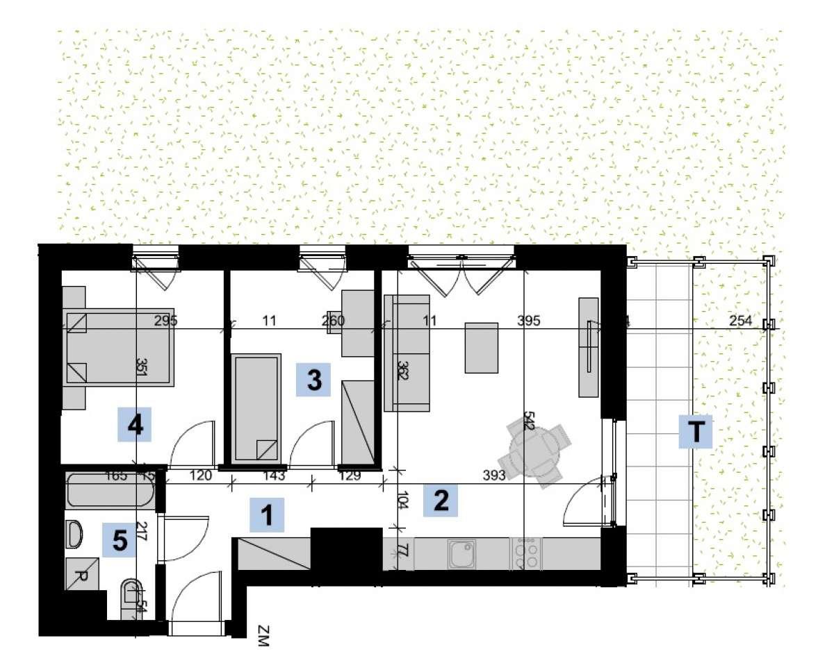 Mieszkanie 51,76 m2, Kwiatkowskiego 4, Rzeszów