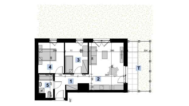 Mieszkanie 51.76 m2