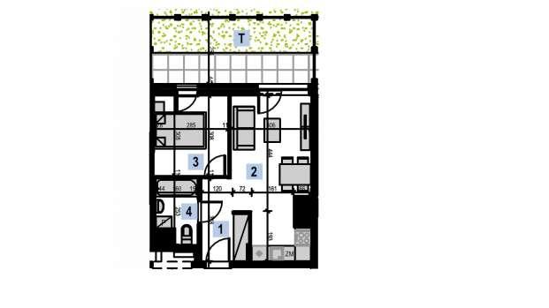 Mieszkanie 34.18 m2