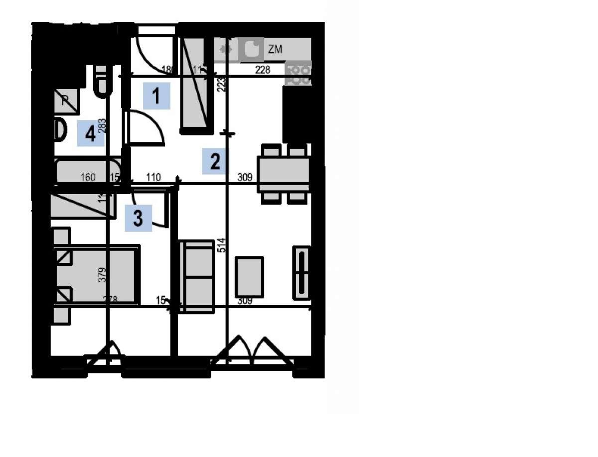 Mieszkanie 39,9 m2, Kwiatkowskiego 4, Rzeszów