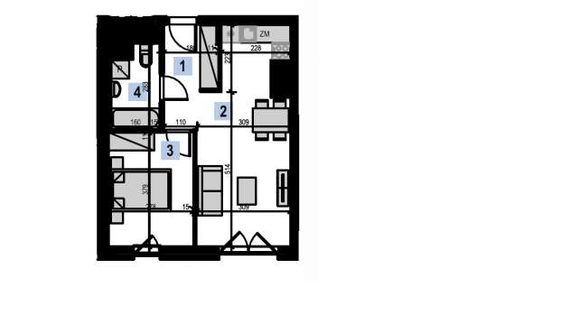 Mieszkanie 39.90 m2