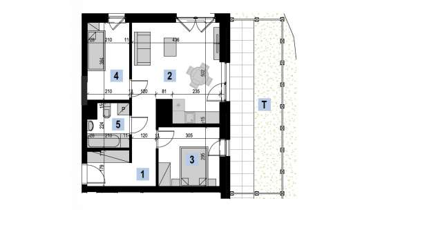 Mieszkanie 49.78 m2