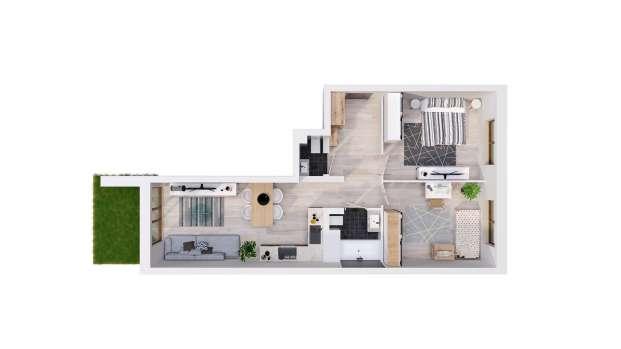 Mieszkanie 59.19 m2