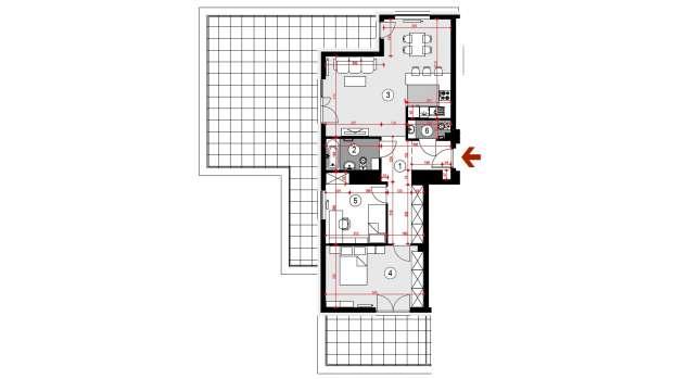 Mieszkanie 75.81 m2