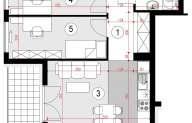 Mieszkanie 47,96 m2, Lubelska, Rzeszów