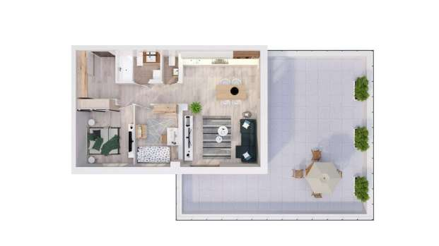 Mieszkanie 61.91 m2
